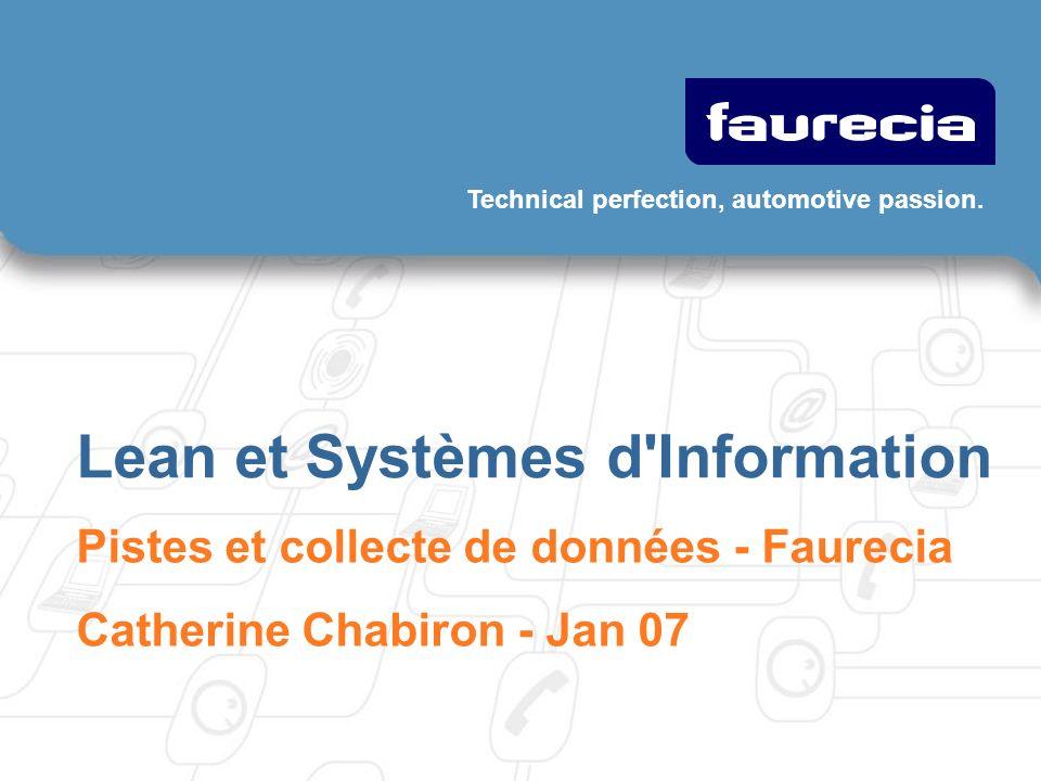 222 Faurecia Lean et Systèmes d information – Feb 07 Gaspillages dans les projets informatiques