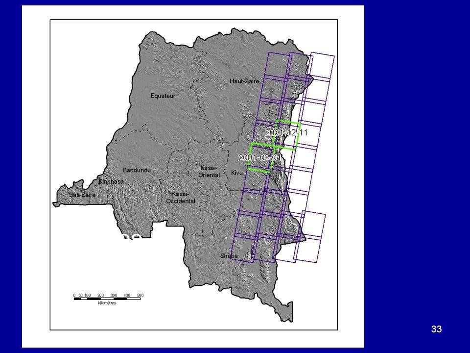 ©Michel A. Bouchard et A.H. Dorsouma 2008 33 Orbites Landsat 7