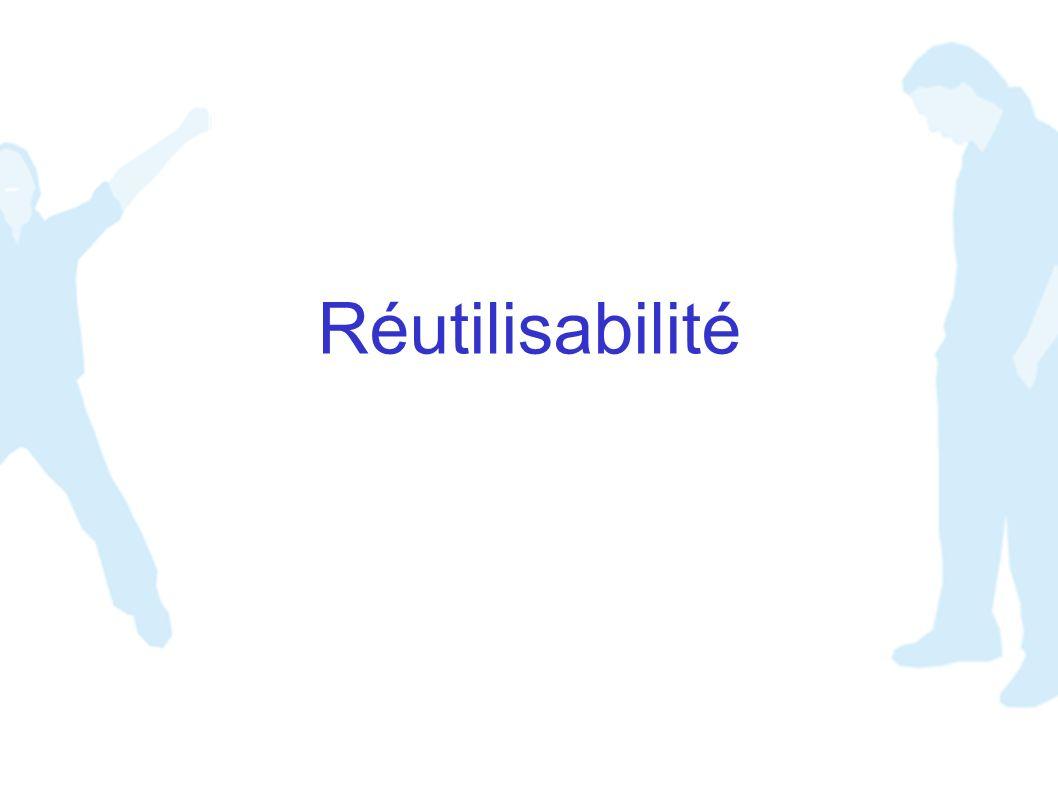 Réutilisabilité