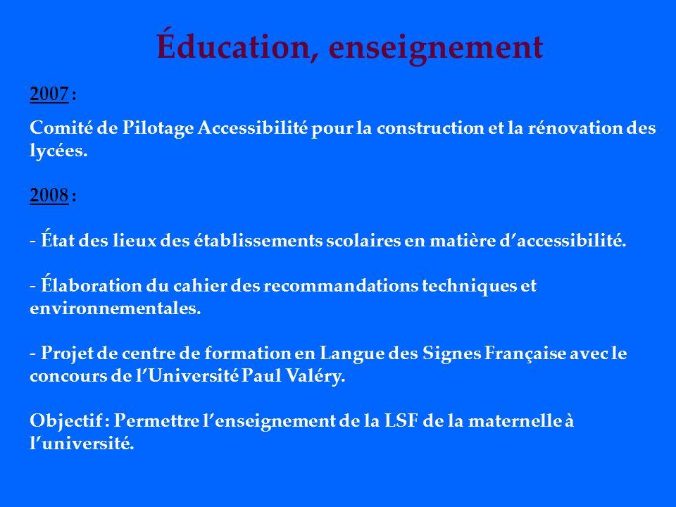 Le défi de lemploi à relever Loi de février 2005 : Pour être en conformité, il faudrait créer en Languedoc-Roussillon 4 500 emplois pour près de 75 00