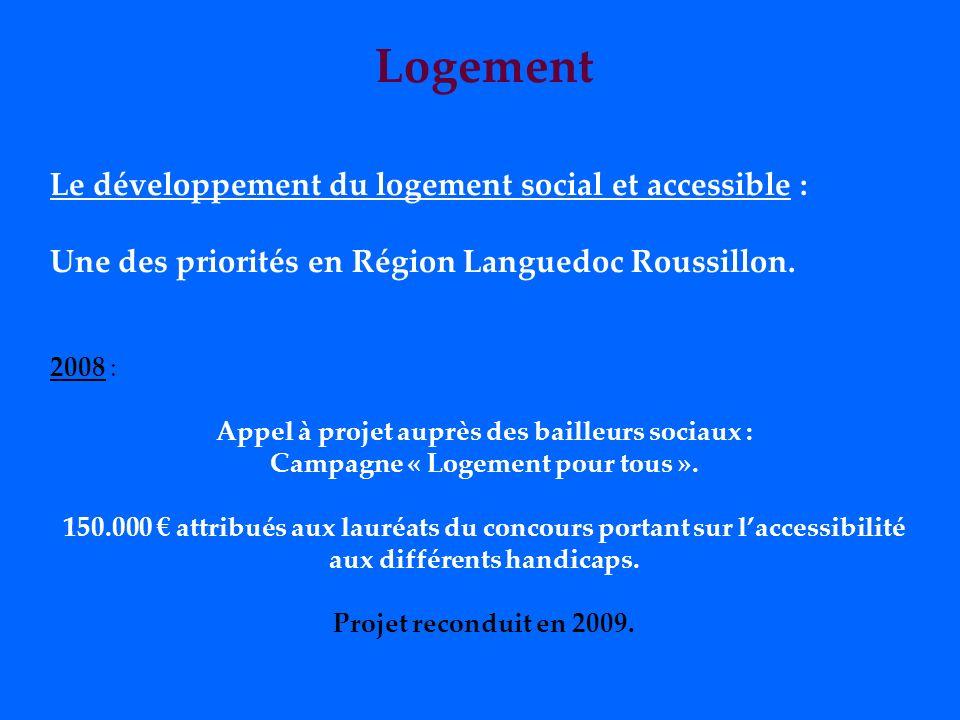 Éducation, enseignement 2007 : Comité de Pilotage Accessibilité pour la construction et la rénovation des lycées. 2008 : - État des lieux des établiss