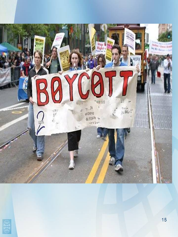 15 Boycotts Asiaweek US News and World Report McLeans