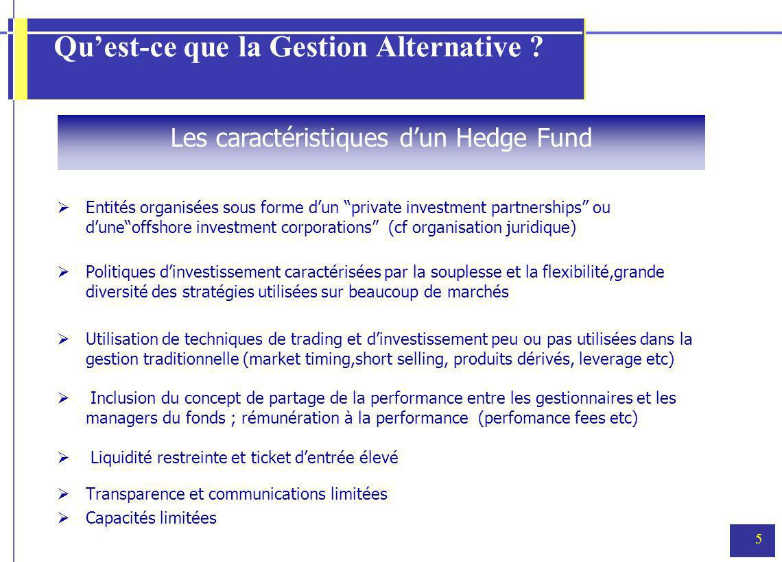 5 Quest-ce que la Gestion Alternative .