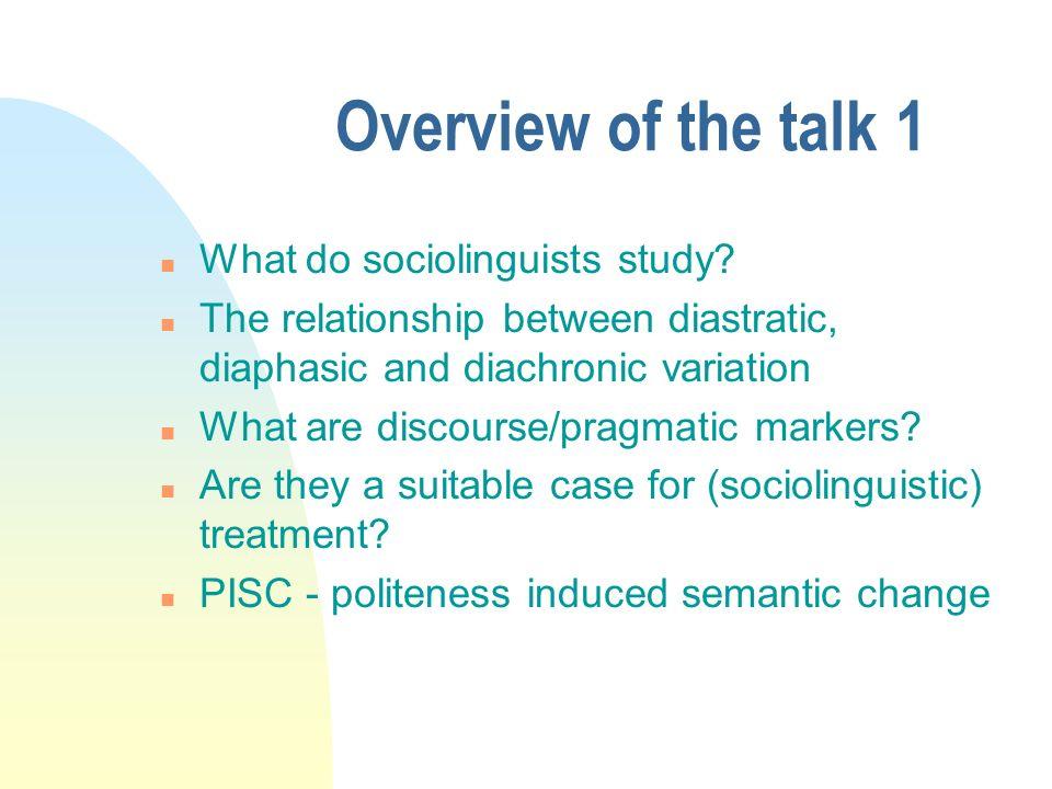Overview of the talk 2 Case-studies : u quand même 1500-2000 u bon u quoi