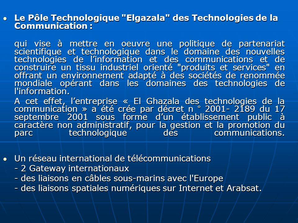 Le Pôle Technologique