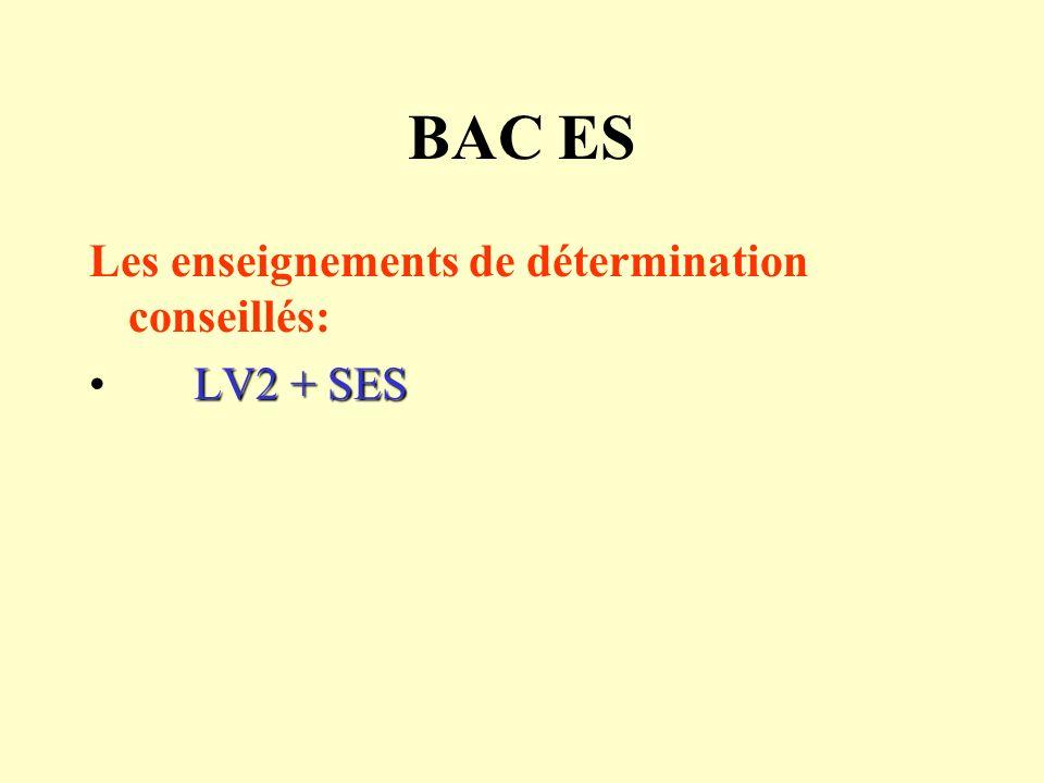 Bac Littéraire Les enseignements de détermination conseillés: LV2 + LV3LV2 + LV3 LV2 + LANGUE ANCIENNELV2 + LANGUE ANCIENNE LV2 + ARTSLV2 + ARTS