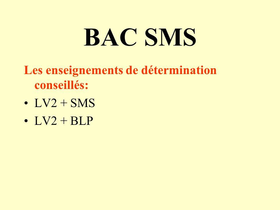Bac STG Les enseignements de détermination conseillés: LV2 + SESLV2 + SES SES + IGC + LV2 facultatif en métropole ou à la RéunionSES + IGC + LV2 facul