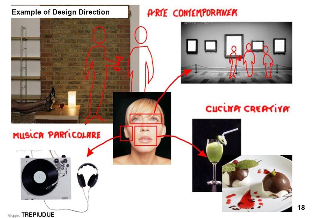 Ecole des Arts Visuels de La Cambre / cours Éco-conception & Développement Durable / François Jégou 18 Example of Design Direction