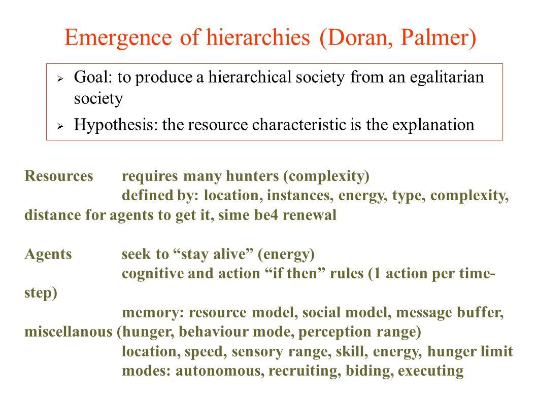 En ce qui concerne les apprentissages individuels, Bourgine [1993] distingue plusieurs niveaux de rationalité des agents selon leur relation à leur environnement et leur capacité à modéliser le réel.