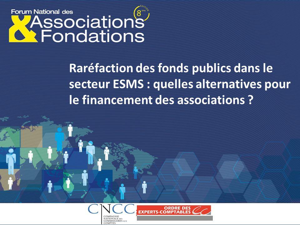 Raréfaction des fonds publics dans le secteur ESMS : quelles alternatives pour le financement des associations ?