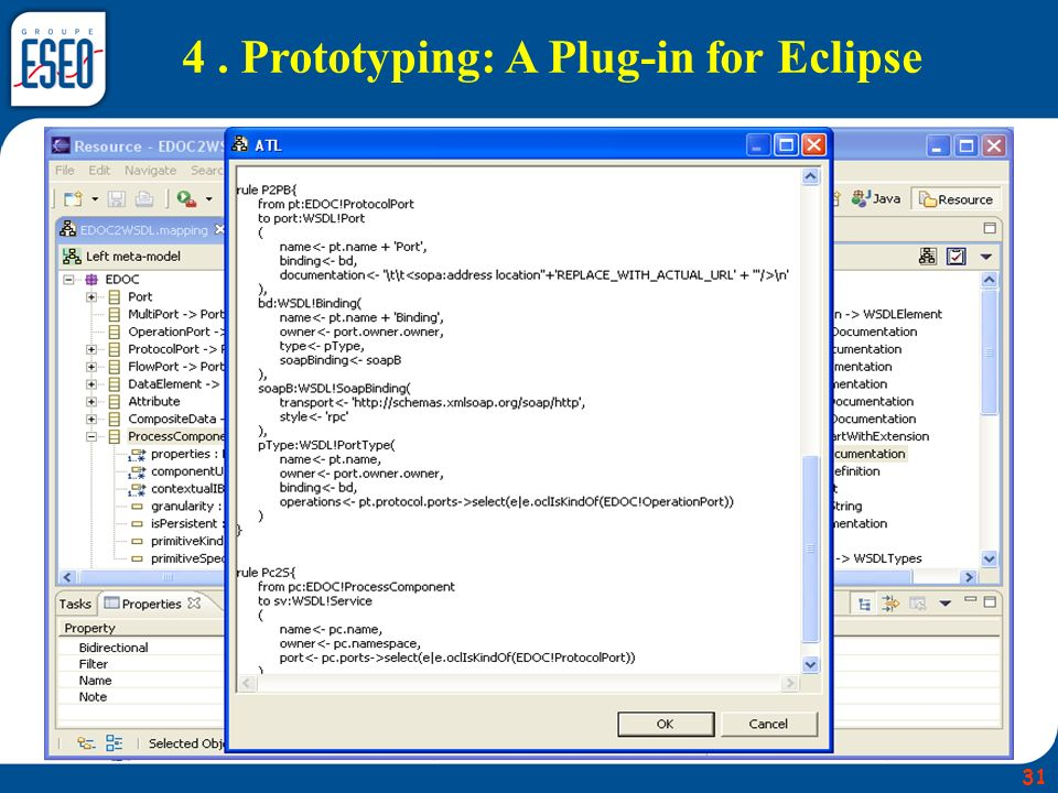 4. Prototyping: A Plug-in for Eclipse 31