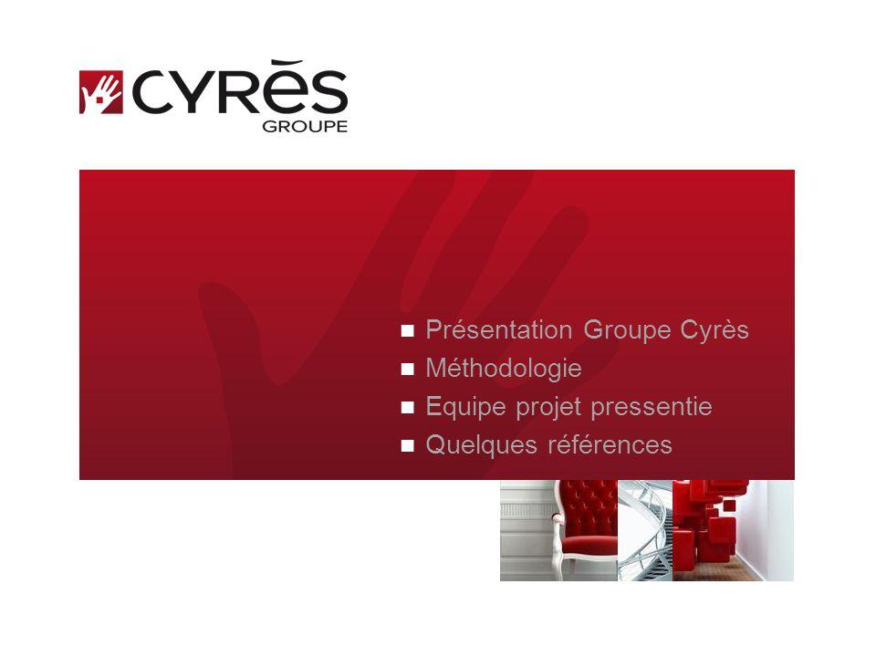 LE DEFI TECHNOLOGIQUE EST RESOLUMENT HUMAIN Groupe Cyrès Présentation 2