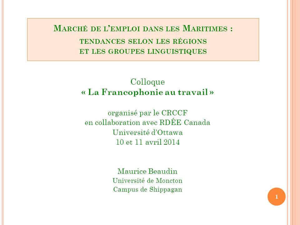 1.Les Maritimes : un espace périphérique en mutation 2.