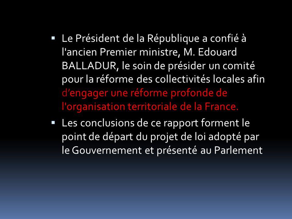 La clarification des compétences exercées par les collectivités territoriales et l encadrement de la pratique des cofinancements sont aujourd hui une nécessité.