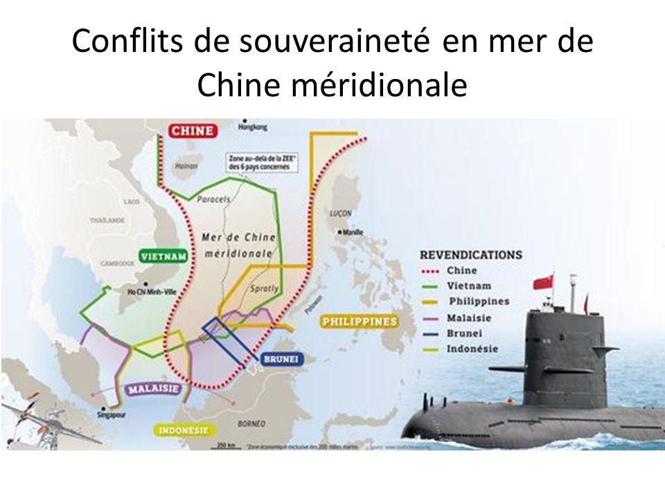 Conflits de souveraineté en mer de Chine méridionale