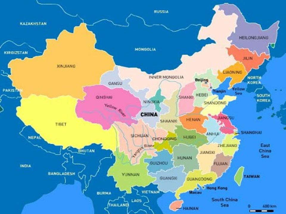 La Chine – une croissance à 2 chiffres depuis 1990 Exemple de la mondialisation active : Shangai en 1990 et en 2010