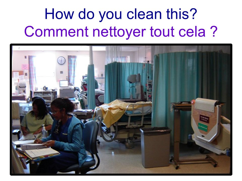 How do you clean this? Comment nettoyer tout cela ?