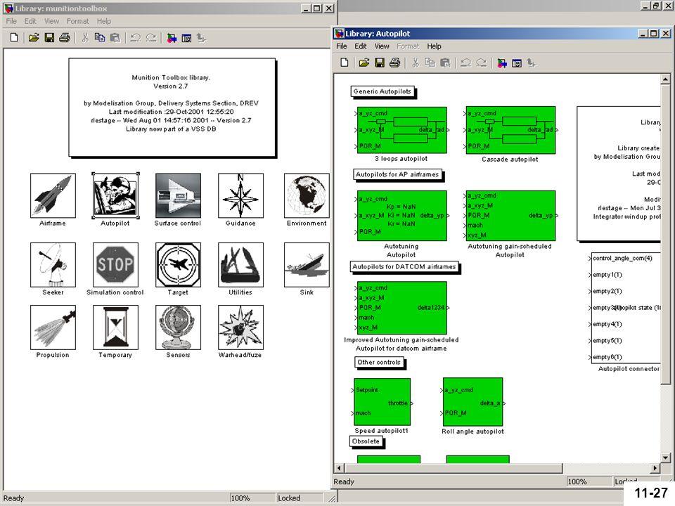 Defence R&D Canada – Valcartier R & D pour la défense Canada – Valcartier 11-27