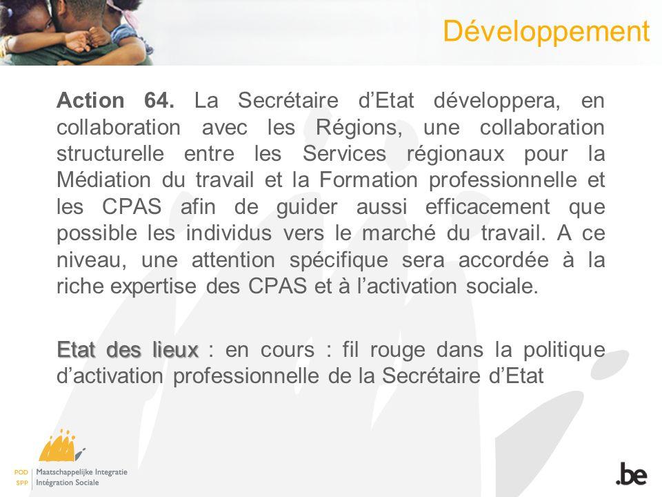 Développement Action 64.