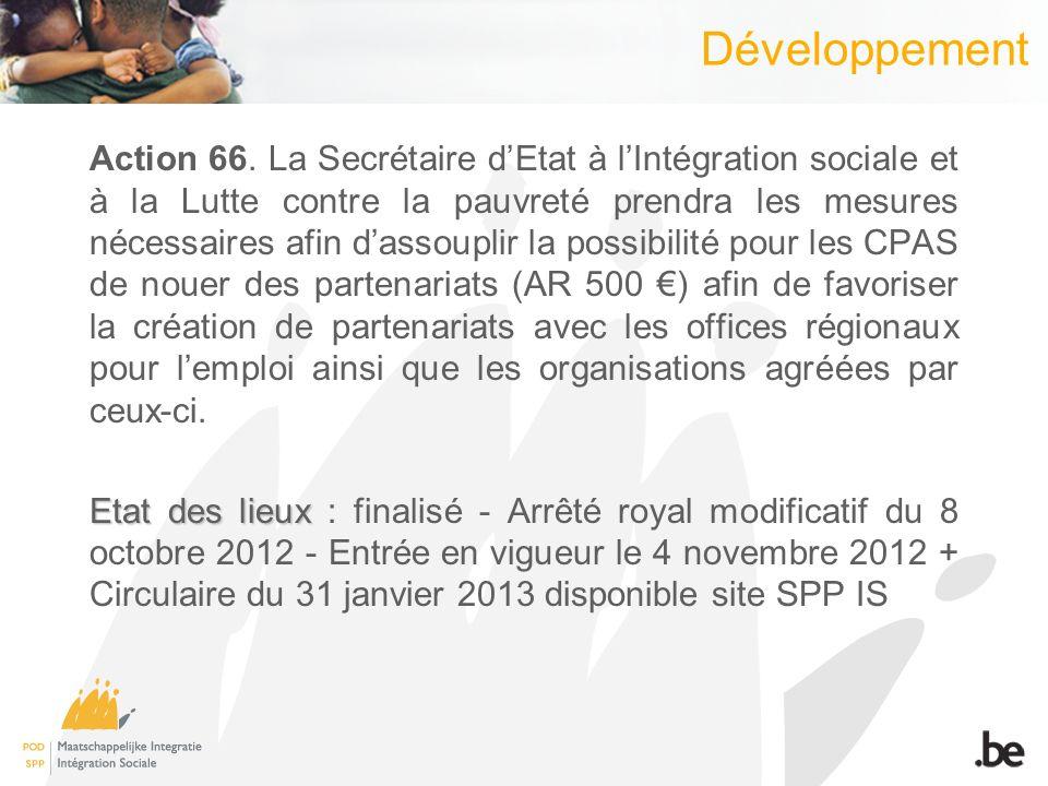 Développement Action 66.