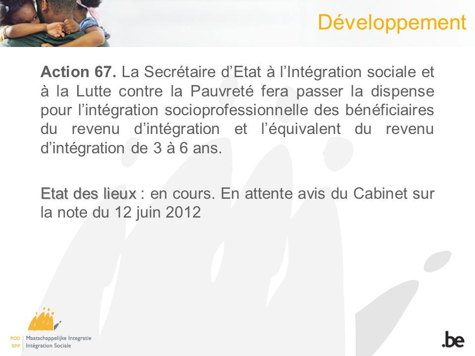 Développement Action 67.