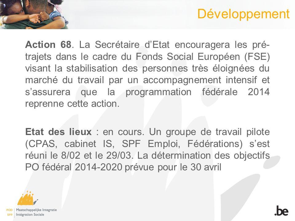 Développement Action 68.