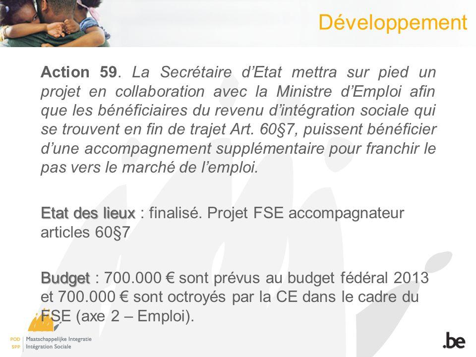 Développement Action 59.