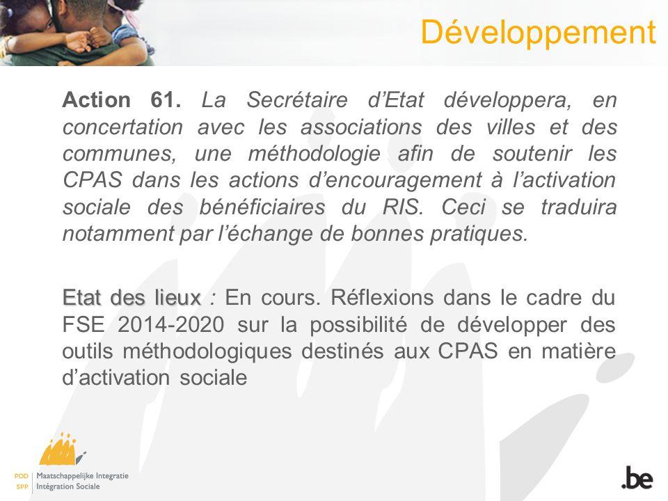 Développement Action 61.