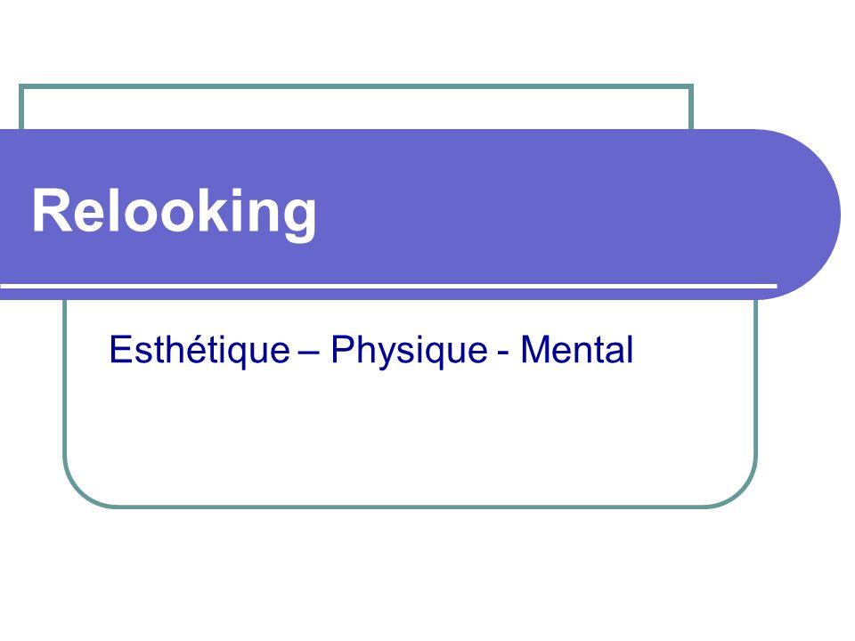 Relooking Esthétique – Physique - Mental