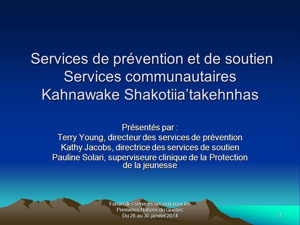 Forum des services sociaux pour les Premières Nations du Québec Du 28 au 30 janvier 20142 Avant de commencer….