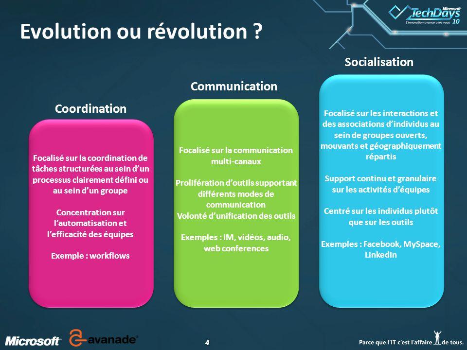 44 Evolution ou révolution .