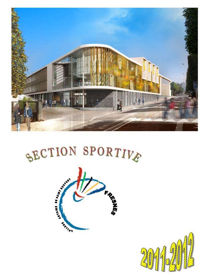 PRESENTATION Cest avec grand plaisir que nous vous annonçons la création dune Section Sportive Badminton à la rentrée 2011 / 2012 au collège Antoine de Saint-Exupéry.