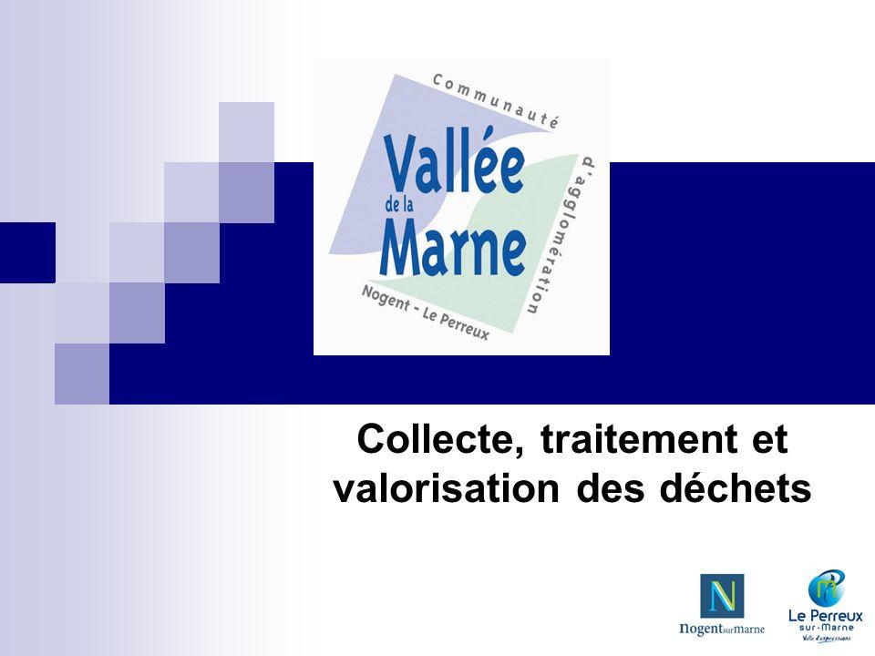 Collecte, traitement et valorisation des déchets