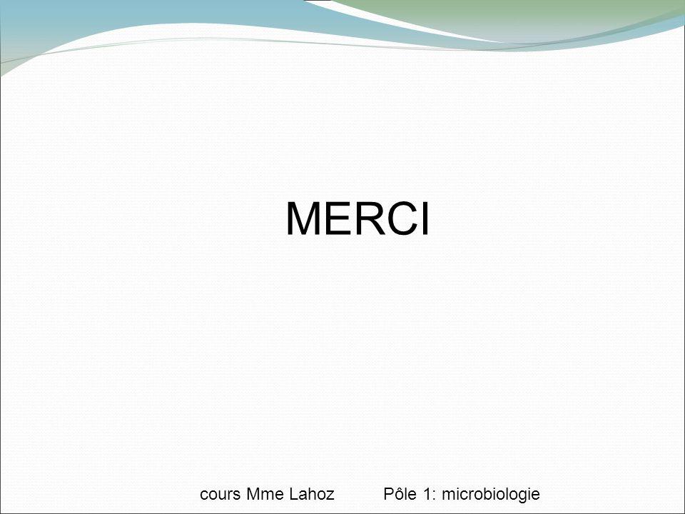 cours Mme Lahoz Pôle 1: microbiologie MERCI