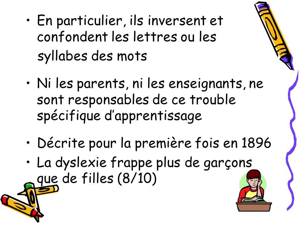 Quest ce que la dyslexie? (Dys:préfixe signifiant difficulté à) Cest une difficulté durable dapprentissage de la lecture et dacquisition de son automa