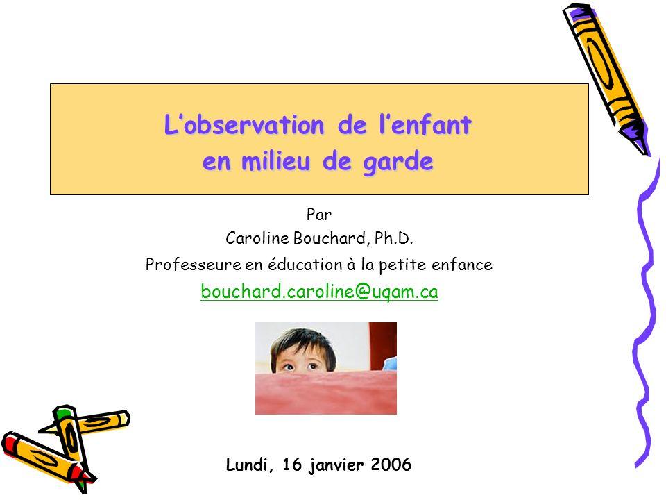 Par Caroline Bouchard, Ph.D.