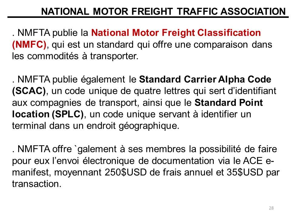 NATIONAL MOTOR FREIGHT TRAFFIC ASSOCIATION.