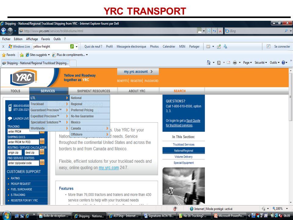 YRC TRANSPORT