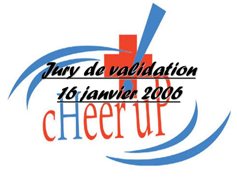 Jury de validation 16 janvier 2006