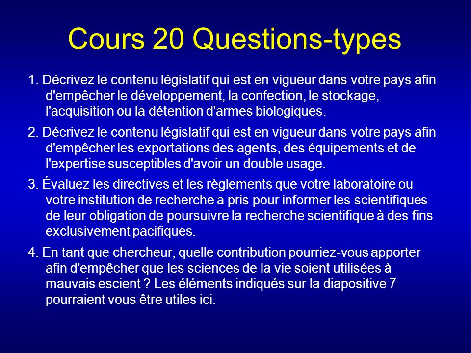 Cours 20 Questions-types 1.