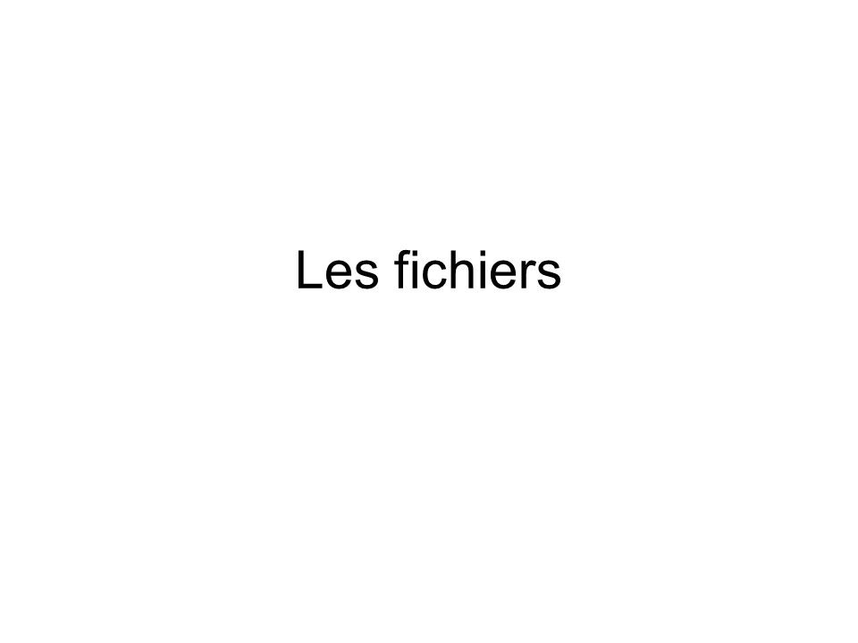 LES FONCTIONS DE RECHERCHE DE FICHIERS Pour rechercher un fichier (ou un dossier), on se sert des fonctions 4eh (« Find First ») et 4fh (« Find Next »).