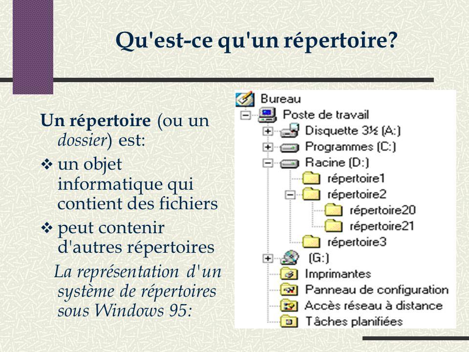 Le système de fichiers permet d'enregistrer les fichiers dans une arborescence organise les données afin de pouvoir localiser les informations R ô l e