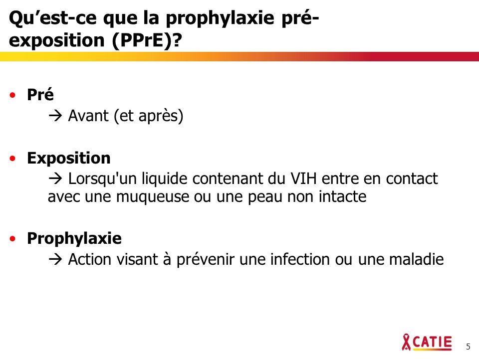 26 Quelle est la prochaine étape pour la PPrE orale et topique.
