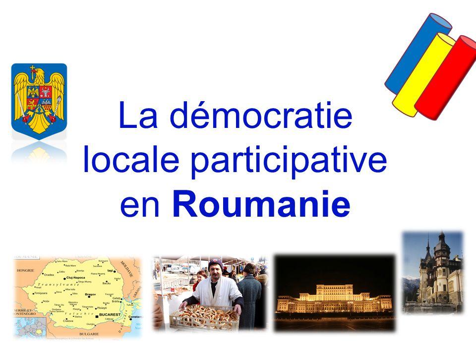 La démocratie locale participative en Roumanie