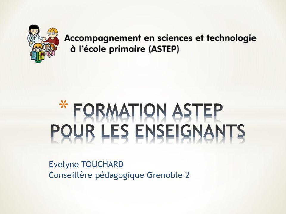 Evelyne TOUCHARD Conseillère pédagogique Grenoble 2