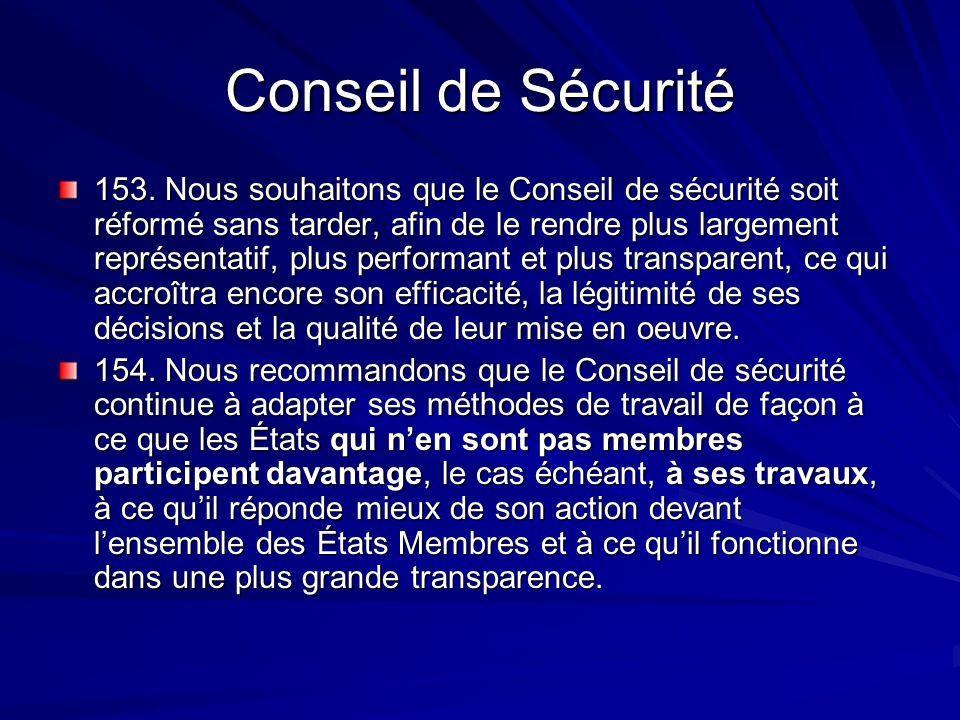 Conseil de Sécurité 153.