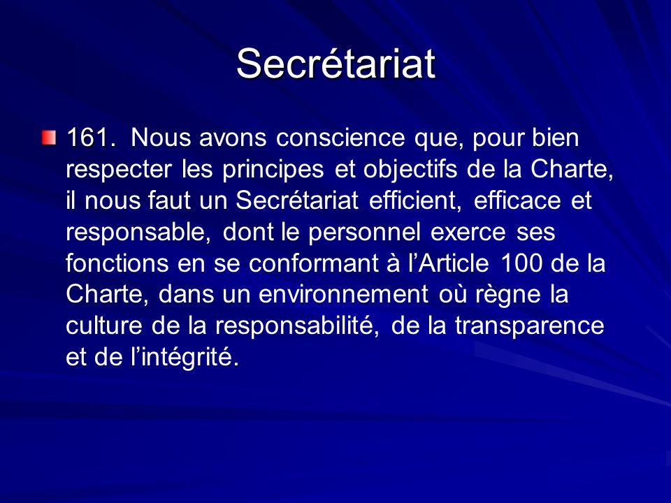 Secrétariat 161. 161.