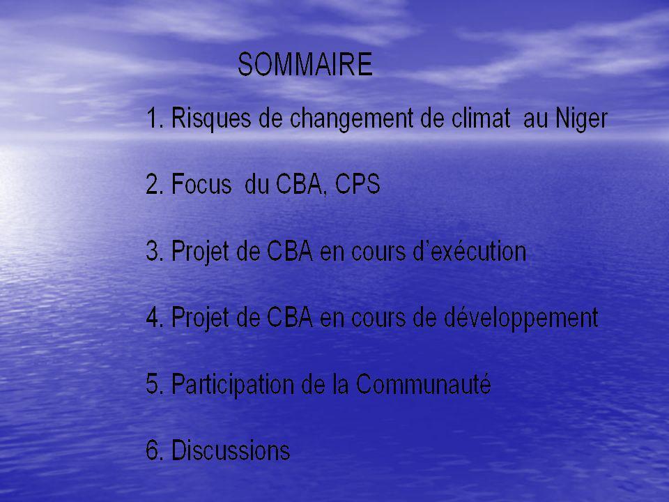 1.Les Risques de changement de climat au Niger 1.