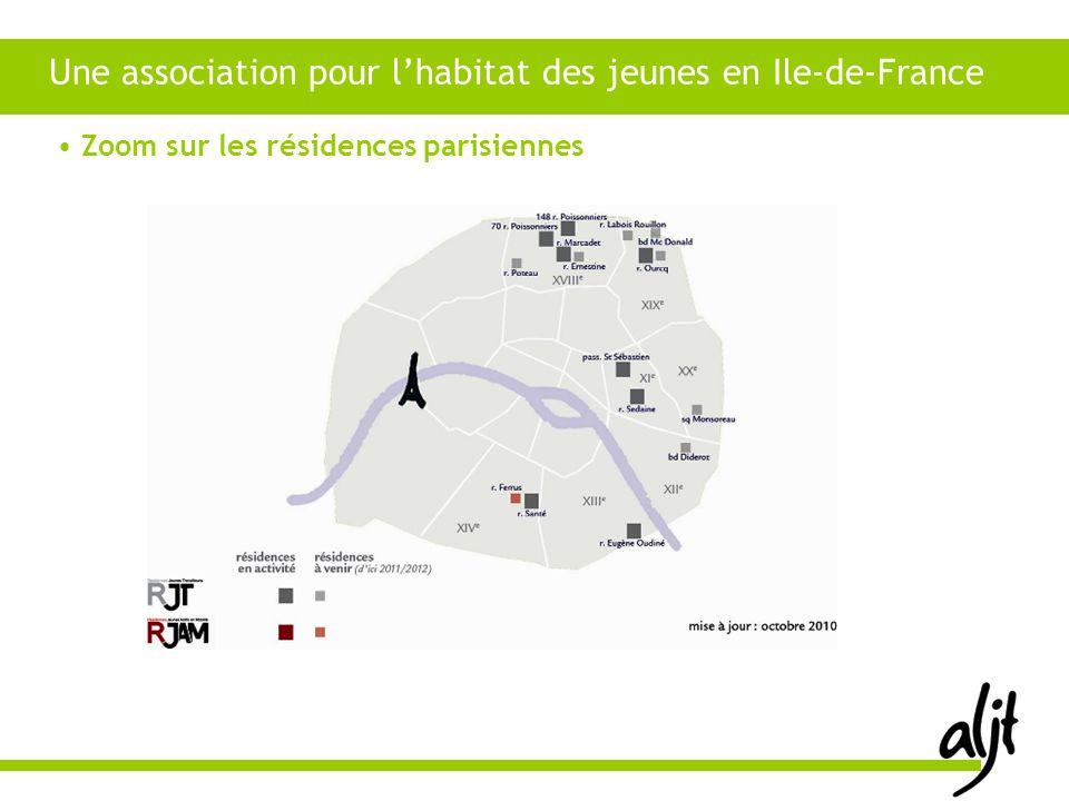 Une association pour lhabitat des jeunes en Ile-de-France Zoom sur les résidences parisiennes