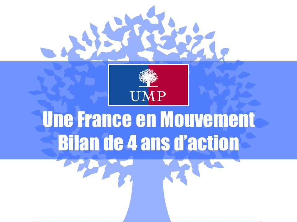 Une France en Mouvement Bilan de 4 ans daction
